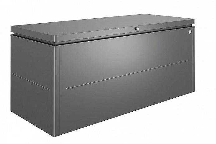 Biohort Designový účelový box LoungeBox (tmavo sivá metalíza) 160 cm (1 krabica)
