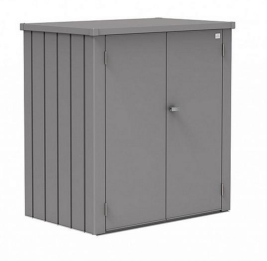 Biohort Skrinka na terasu Biohort Romeo L 132 x 87 x 140 (sivý kremeň metalíza) L (3 krabice)