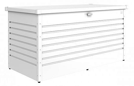 Biohort Vonkajší úložný box FreizeitBox 134 x 62 x 71 (biela)