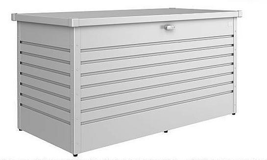 Biohort Vonkajší úložný box FreizeitBox 159 x 79 x 83 (strieborná metalíza)