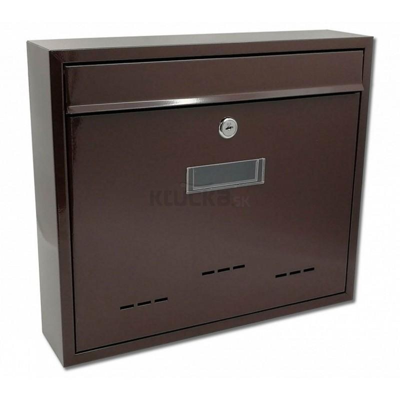 BK31D poštová schránka, Hnedá
