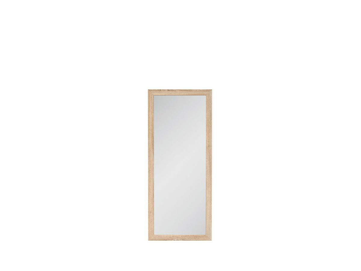 BLACK RED WHITE Kaspian LUS/50 zrkadlo na stenu dub sonoma