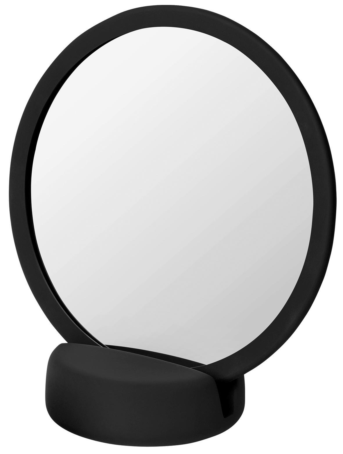 Blomus Stolní kosmetické zrcadlo černé SONO