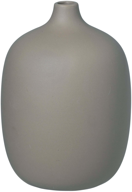 BLOMUS Váza 18,5 cm ceola šedivá