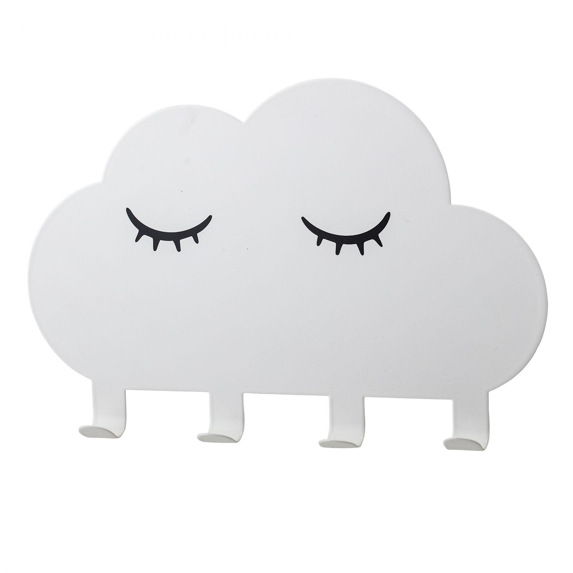 Bloomingville Detský kovový vešiak White Cloud