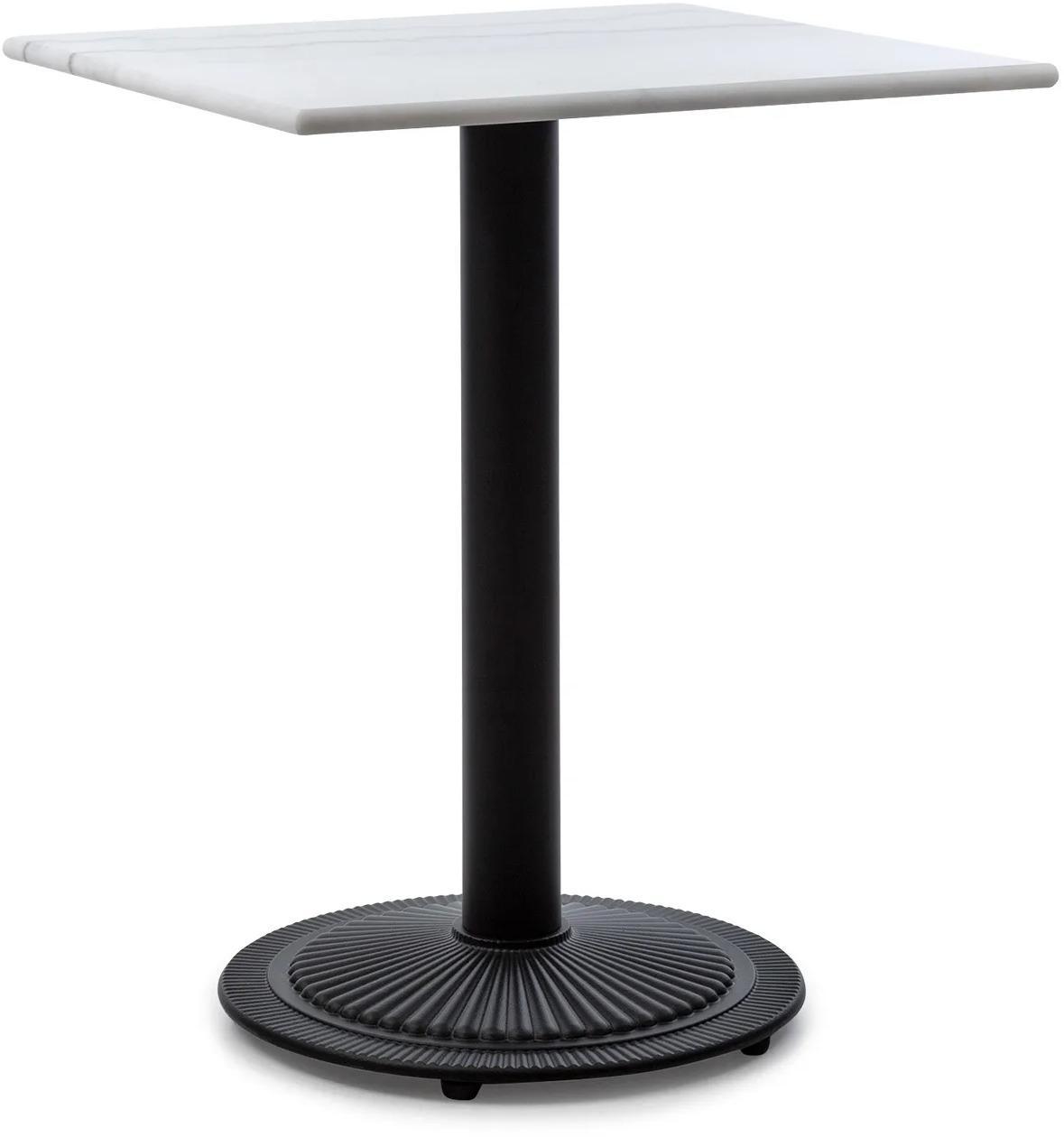 Blumfeldt Patras Onyx, bistro stolík, secesný štýl, mramor, 60 × 60 cm, výška: 72 cm, okrúhly