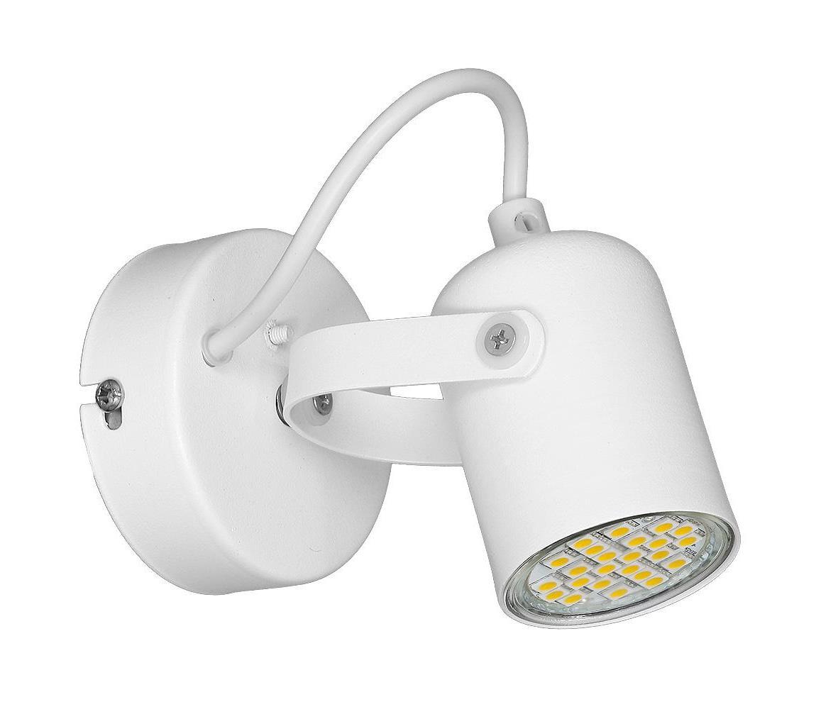 Bodové svietidlo MARK 1xGU10/40W/230V biele