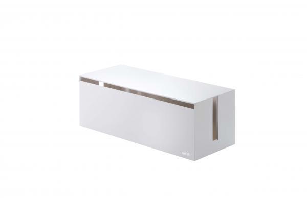 Box na nabíjačky Yamazaki Web Cable Box, biely