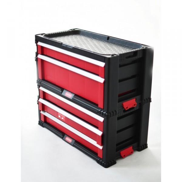 Box na náradie KETER - 2 zásuvky CURVER