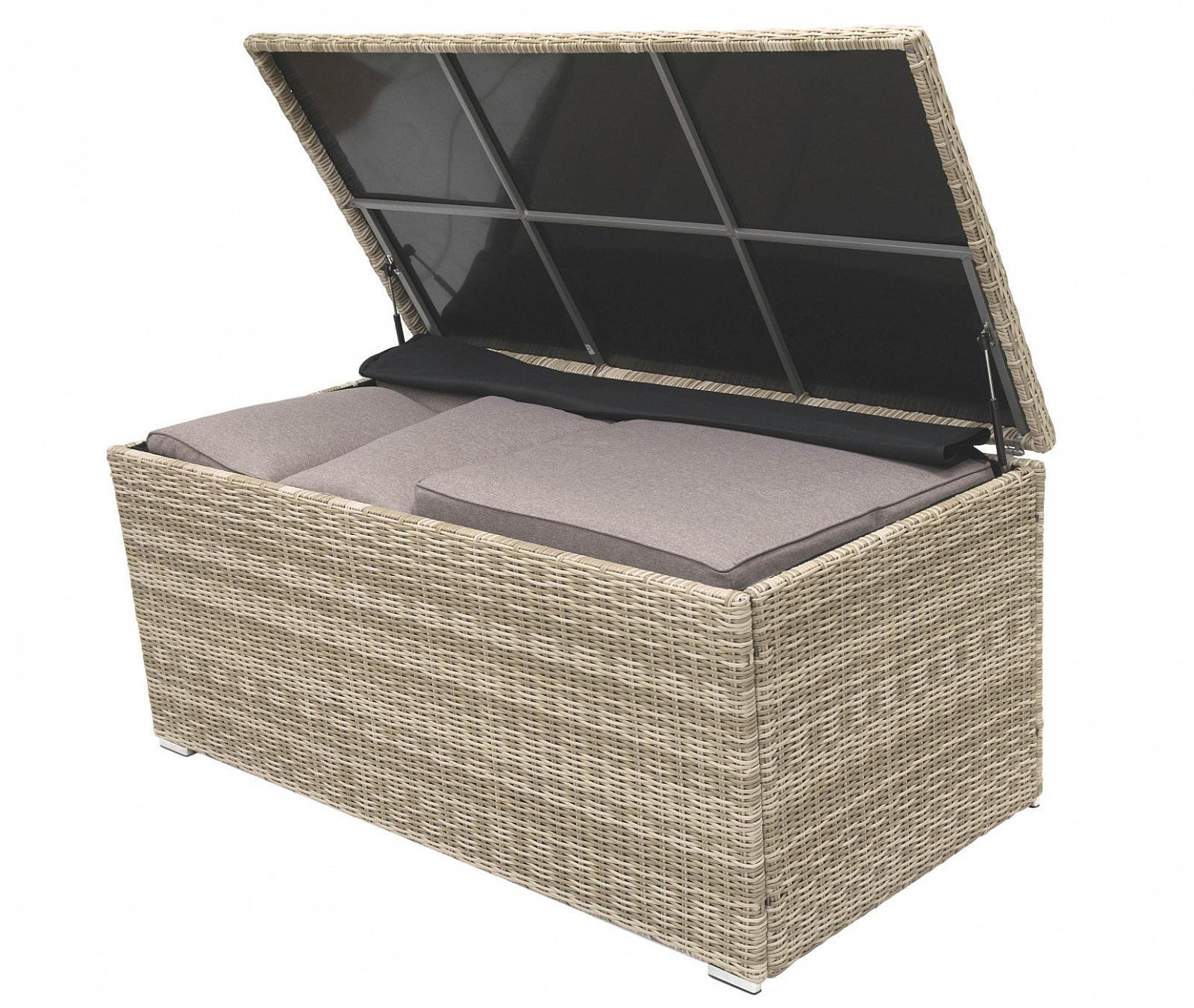 Box na podušky SEVILLA 164 x 82 cm (béžová)