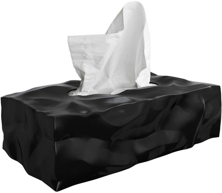Box na vreckovky Essey Wipy II Black