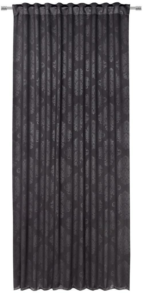 Boxxx HOTOVÝ ZÁVES, black-out (neprepúšťa svetlo), 135/245 cm - čierna