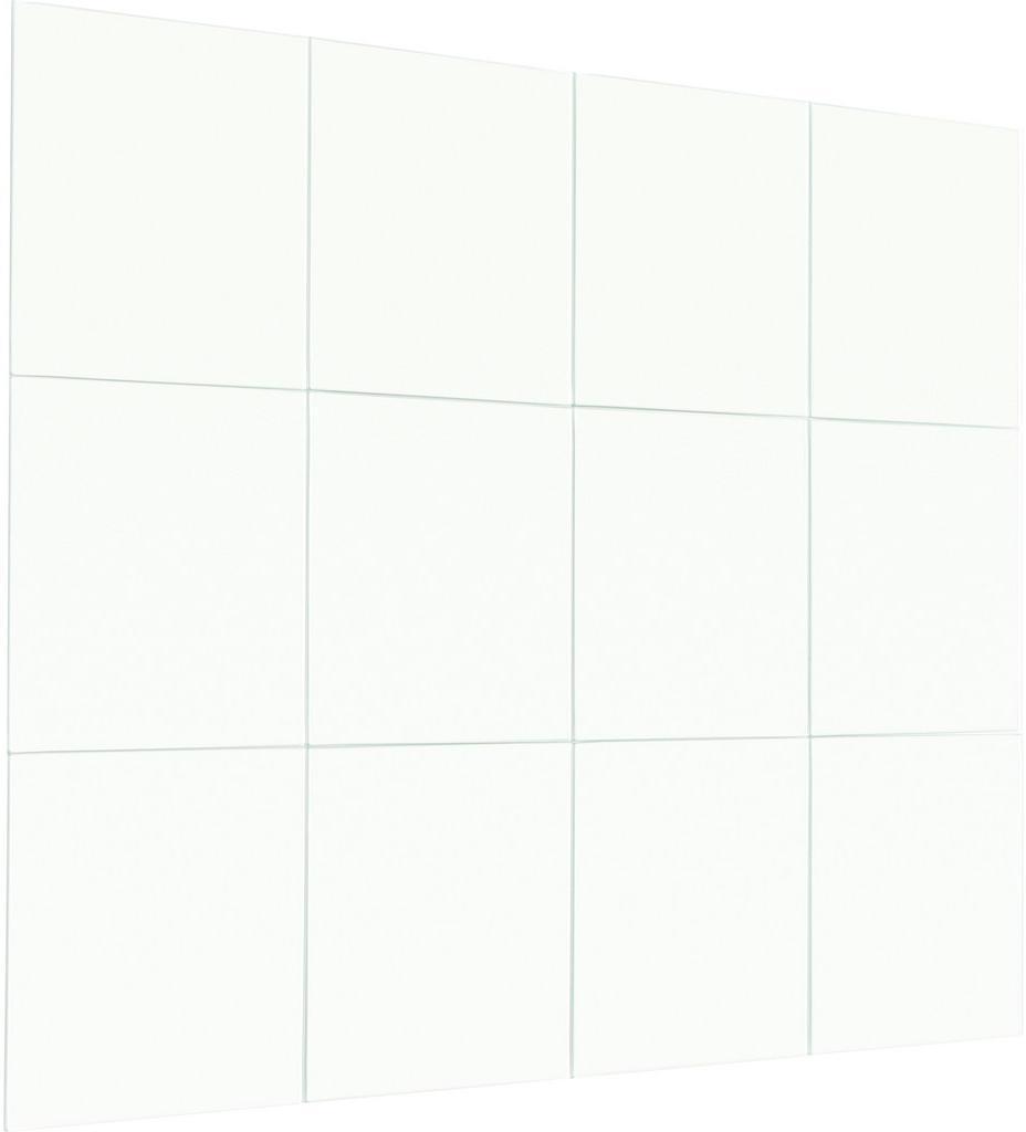 Boxxx NÁSTENNÉ ZRKADLO, 15/15/0,3 cm - strieborná