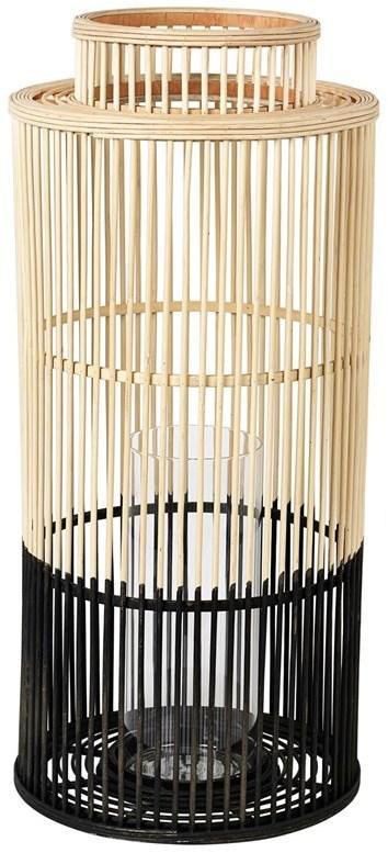 Broste Copenhagen Bambusová Lucerna Broste Alde Ø 30,5 cm