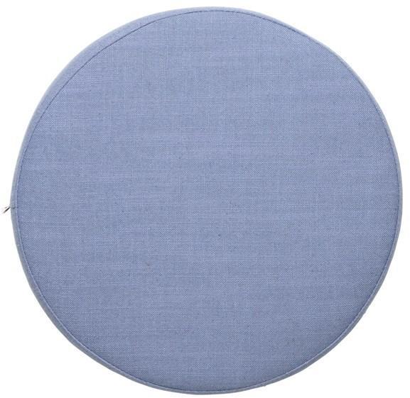 Broste Copenhagen Sedák na lavice/židle Broste Ninna | modrý