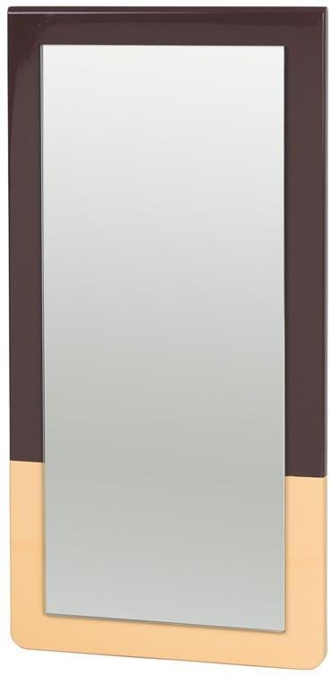 Broste Copenhagen Zrcadlo Broste Tenna 26x52 cm | hnědé přírodní