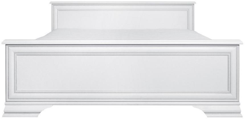 BRW Manželská posteľ Idento LOZ/160 Farba: biely