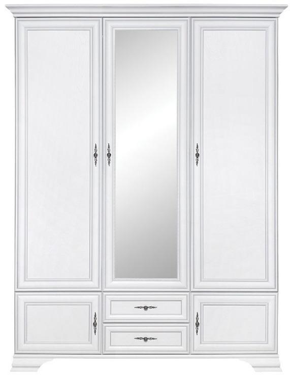 BRW Šatníková skriňa Idento SZF5D2S Farba: biely