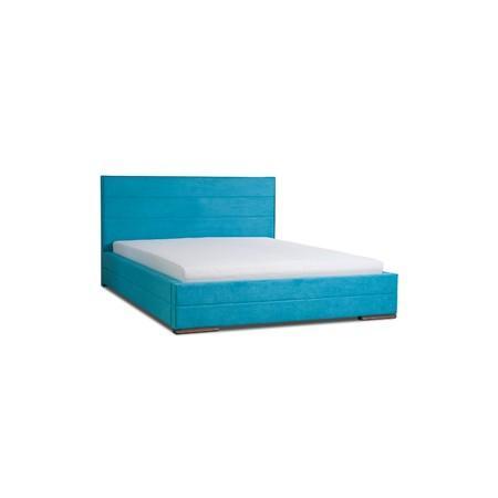 Čalúnená posteľ MONIKA modrá rozmer 160x200 cm