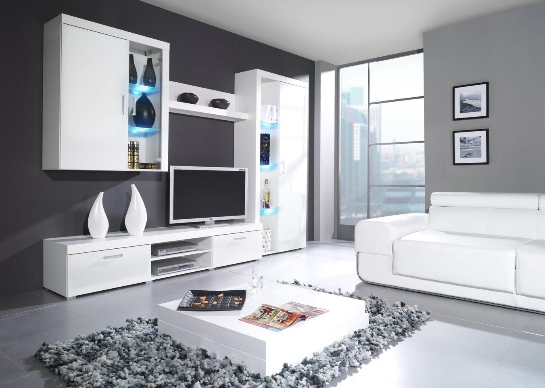 CAMA MEBLE Obývacia stena CAMA SAMBA B Farba: biela