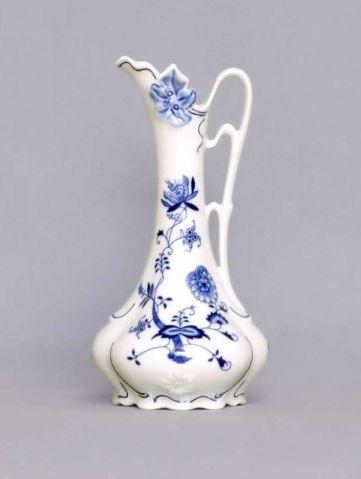 Český porcelán, a.s., Dubí Váza secesní  21 cm, cibulák, Český porcelán