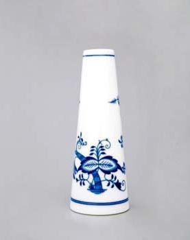 Český porcelán, a.s., Dubí Váza úzká  15,2 cm, cibulák, Český porcelán