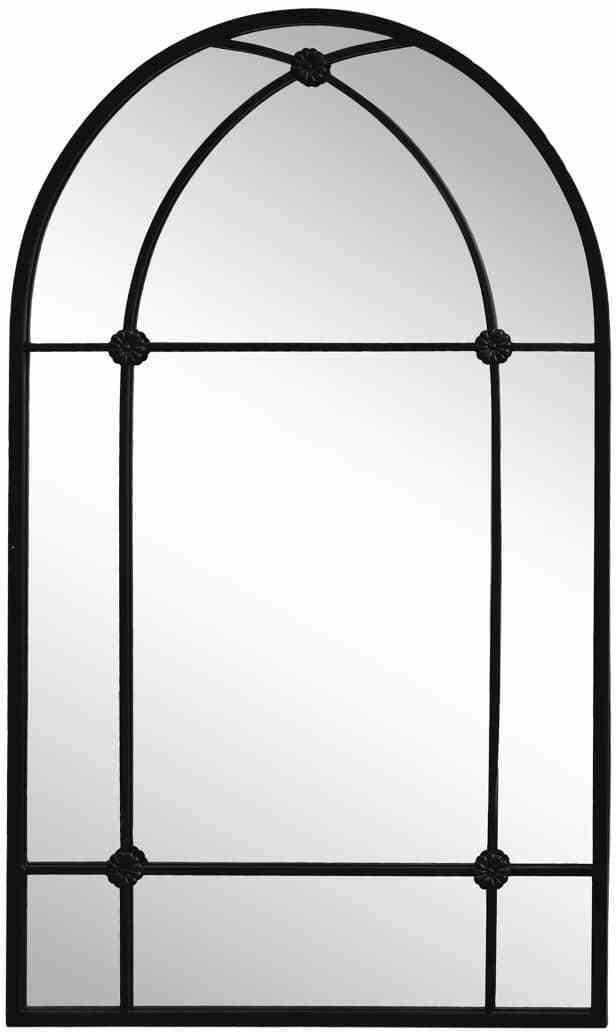 Chic Antique Nástenné zrkadlo Arch Mirror Antique Black