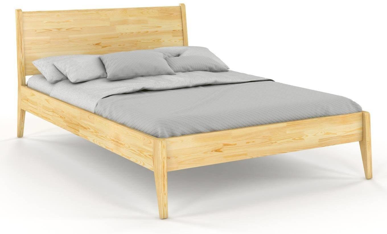 CHROB Masívna posteľ Radom z borovice - prírodná Rozmer postele: 180 x 200 cm