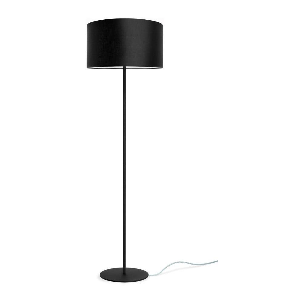 Čierna stojacia lampa Sotto Luce MIKA Elementary L 1F