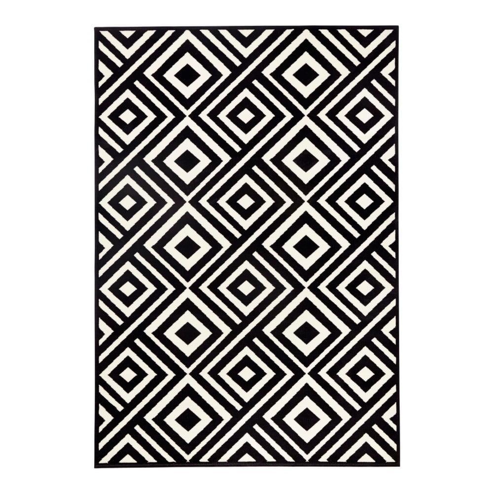 Čierno-biely koberec Zala Living Art, 70 × 140 cm