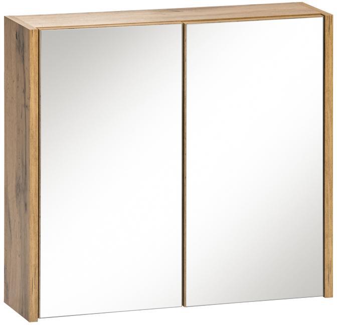 COM Skrinka vrchná zrkadlová IBIZA WHITE 840