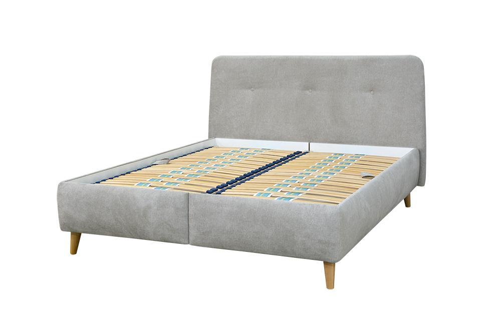 CREATIVE čalúnená posteľ s úložným priestorom