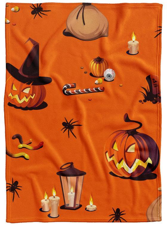 Deka Halloween vzor 1