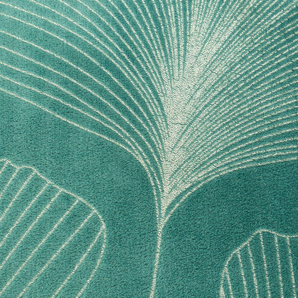 Deka z mikrovlákna GINKO I. tyrkysová 150x200 cm Mybesthome