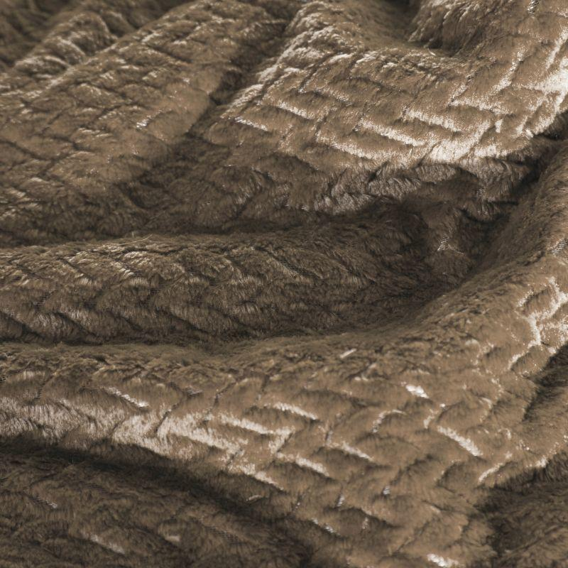 Deka z mikrovlákna LUIZ 150x200 cm béžová Mybesthome