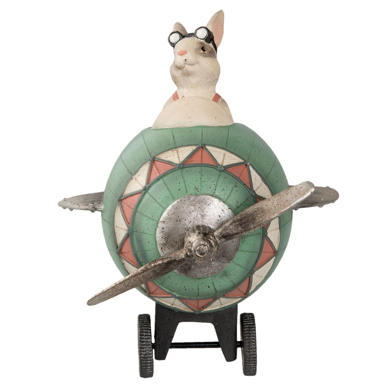 Dekorácie králiček v lietadle - 24 * 17 * 18 cm