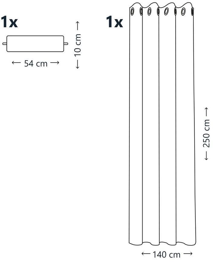 Dekorační vzorovaný závěs PYRAMID, vínová (1 kus)140x250 cm MyBestHome