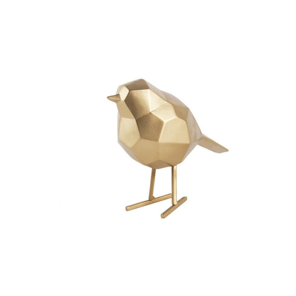 Dekoratívna soška v zlatej farbe PT LIVING Bird Small Statue