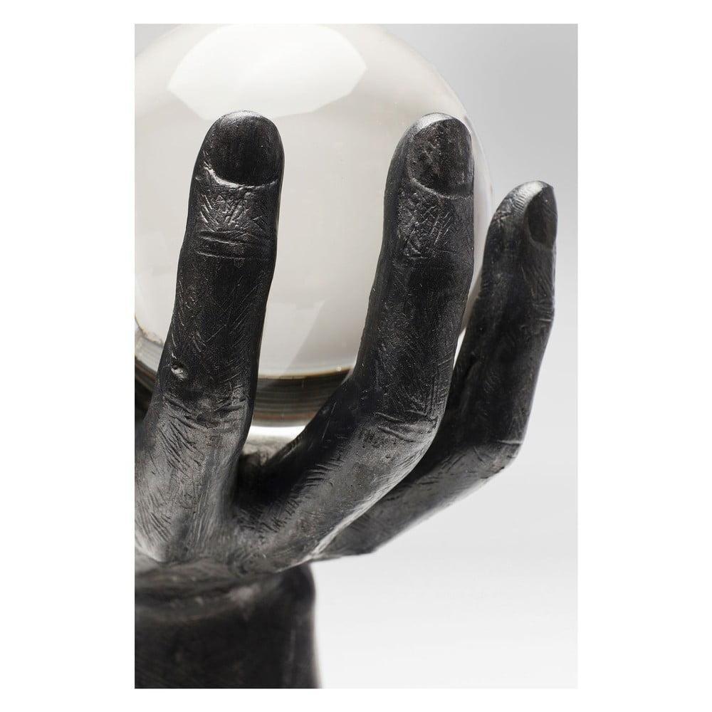 Dekoratívne socha Kare Design Ball Hand, výška 31 cm