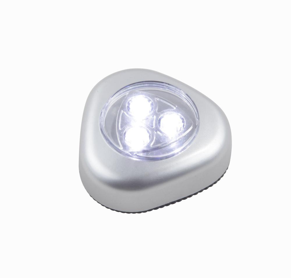 Dekoratívne svietidlo LED Flashlight 31909 (strieborná metalíza + priehľadná)