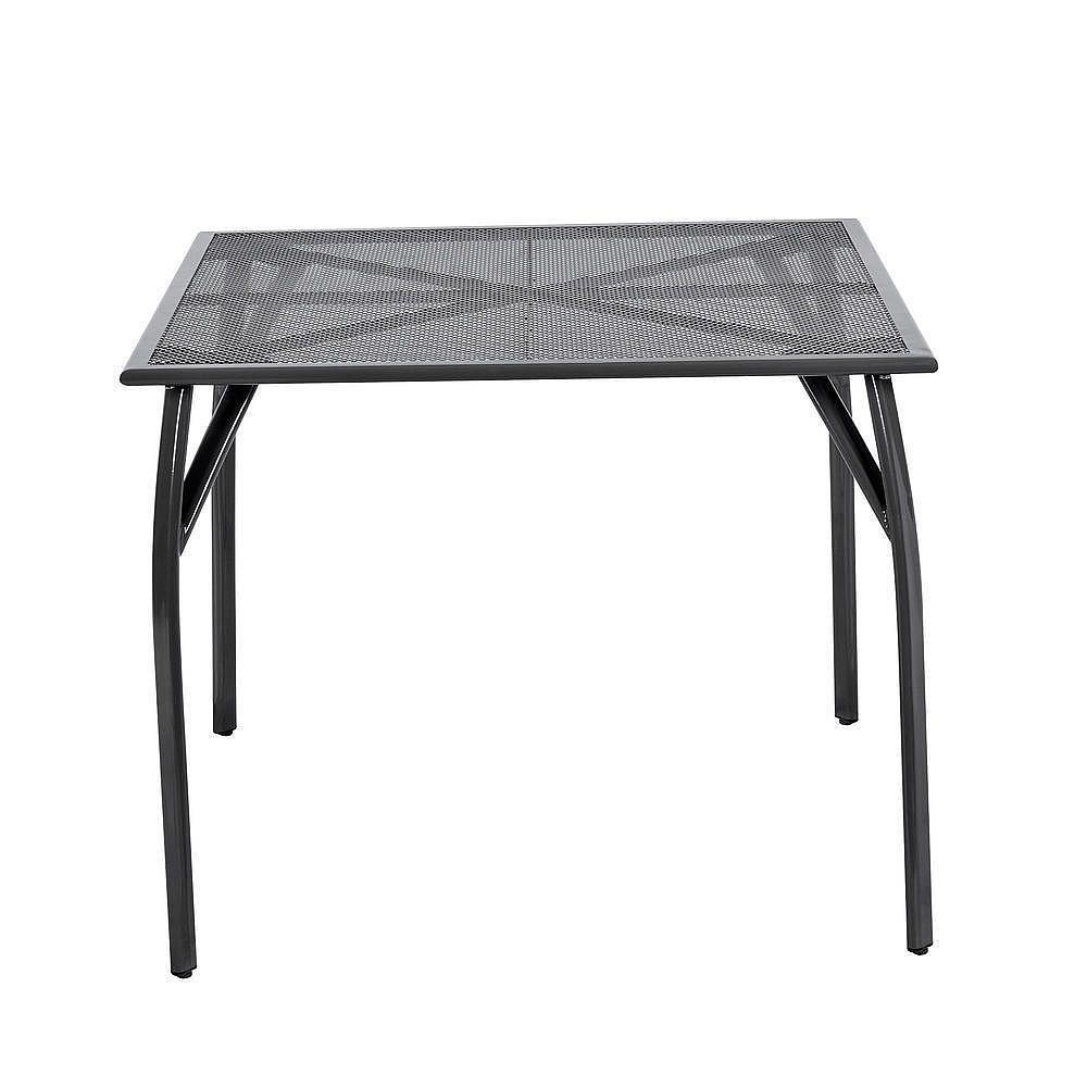 DEOKORK Kovový stôl EDEN 90x90 cm