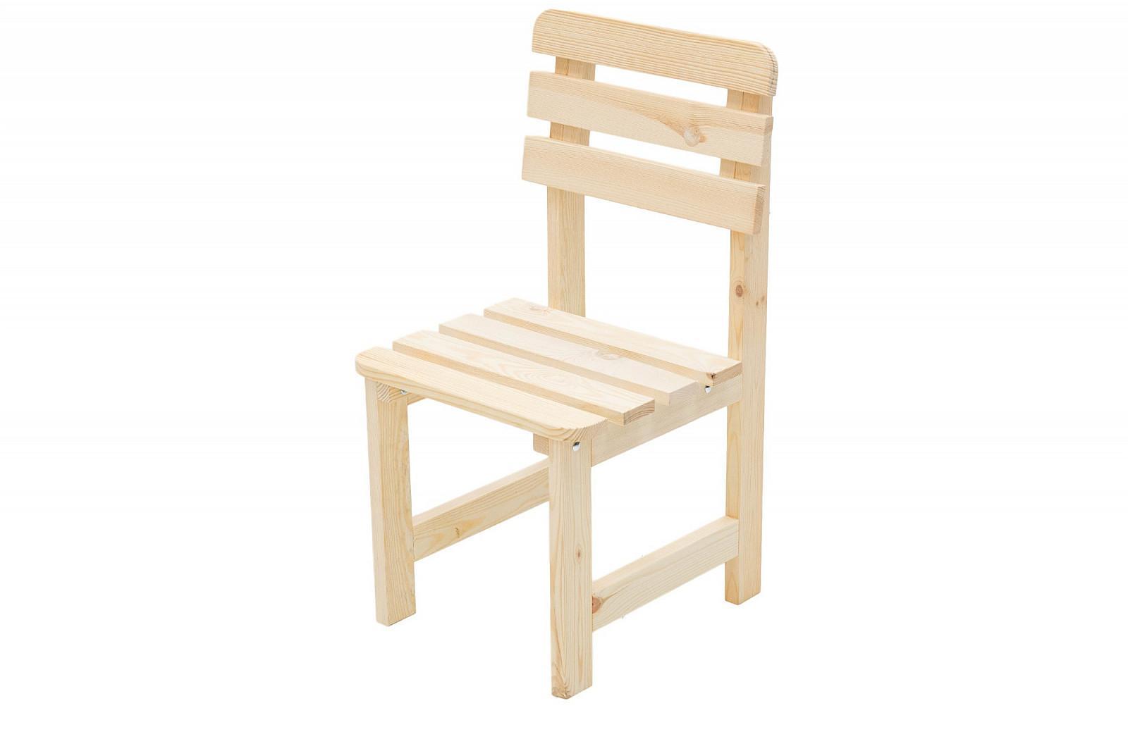 DEOKORK Masívne drevené záhradné kreslo z borovice drevo 22 mm