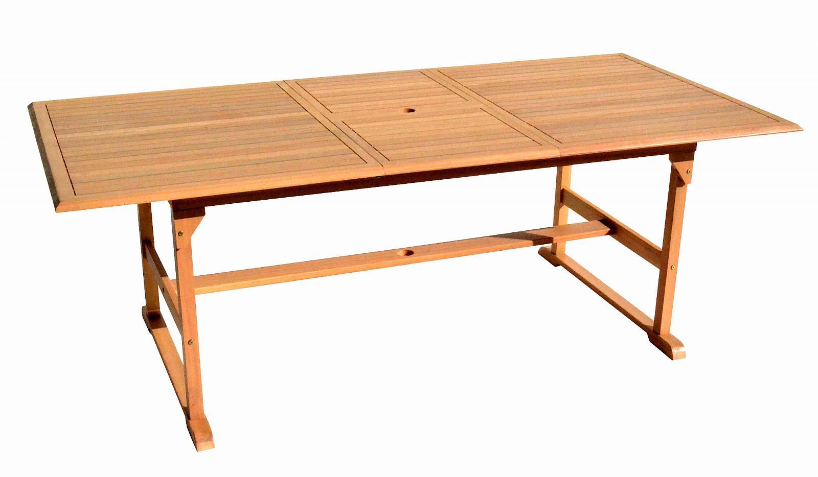 DEOKORK Záhradný stôl obdĺžnikový SANTIAGO