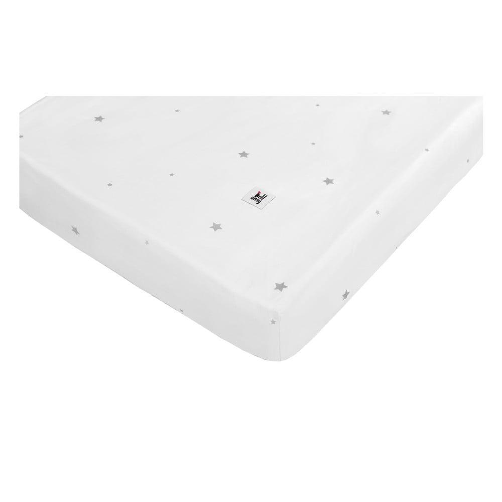 Detská bavlnená plachta BELLAMY Shining Star, 70 × 140 cm