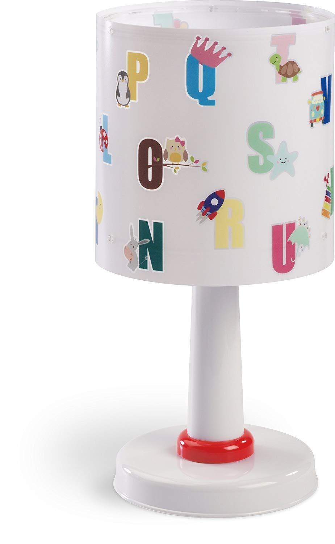 Detská stolová lampička - Abeceda