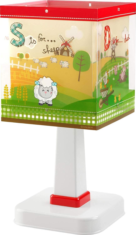 Detská stolová lampička - My Little Farm