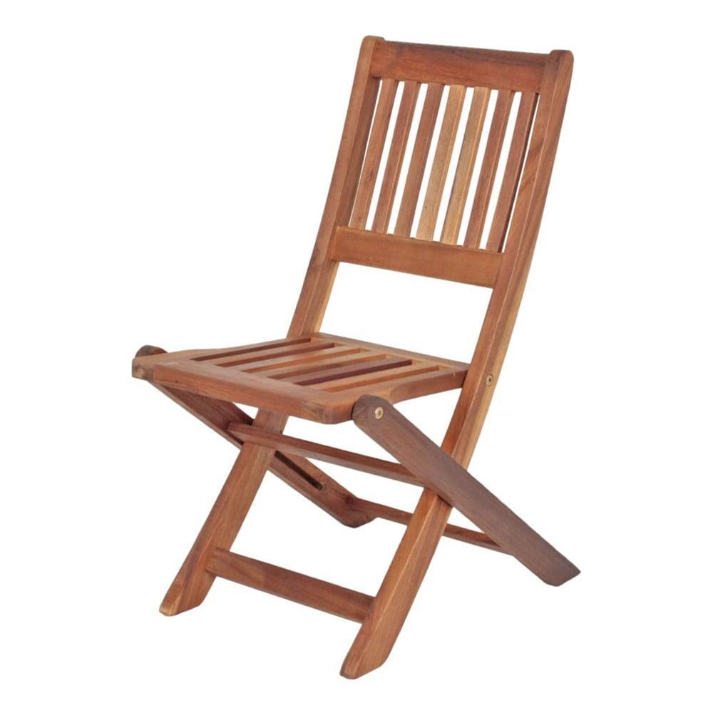 Detská záhradná skladacia stolička z eukalyptového dreva ADDU Montana