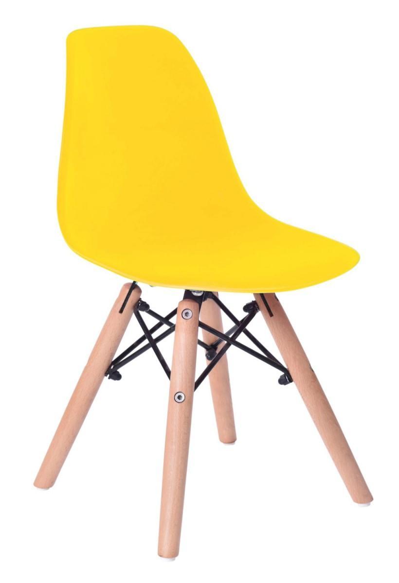 Detská stolička PARIS žltá