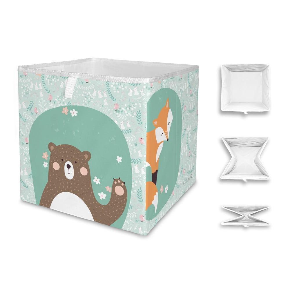 Detský úložný box Mr. Little Fox Close Friends Dark