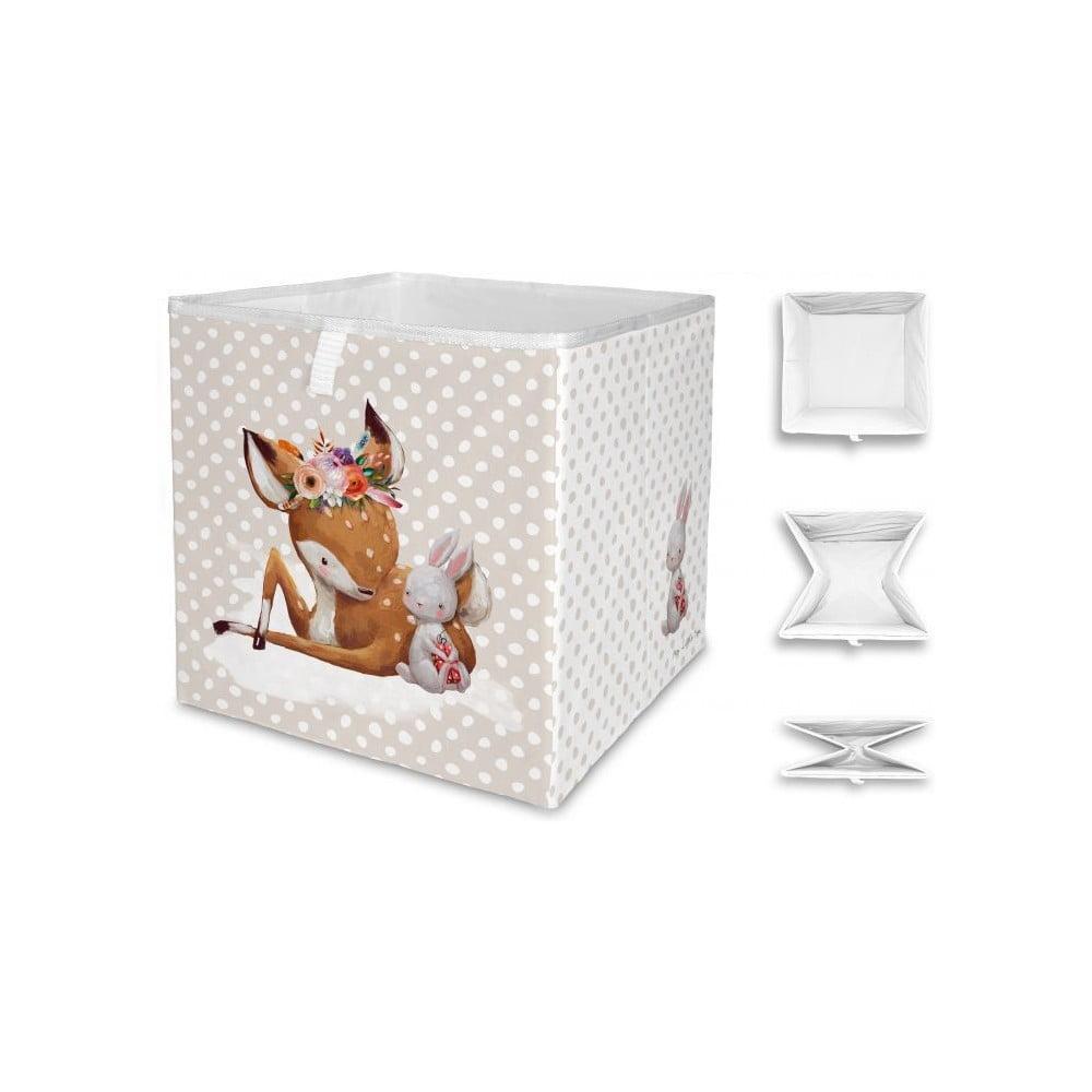 Detský úložný box Mr. Little Fox Doe and Her Friend